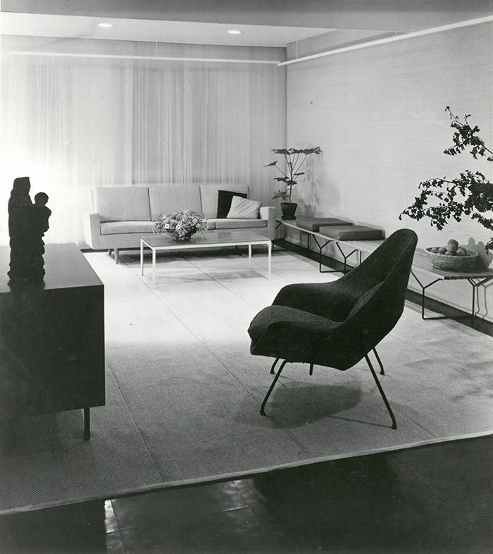Project: Knoll International Showroom In Stuttgart, Germany, 1952 |  Interior Design: Knoll
