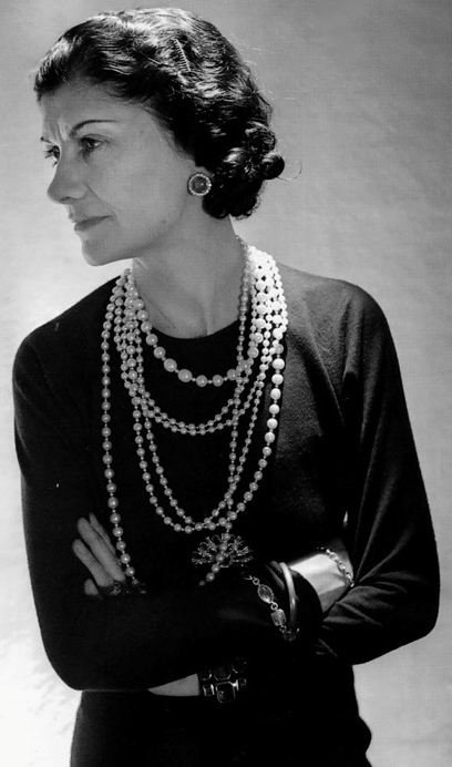 Image result for coco chanel pearls