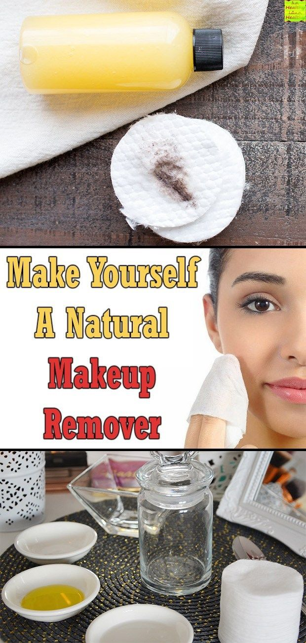 Make Yourself A Natural Makeup Remover Natural makeup
