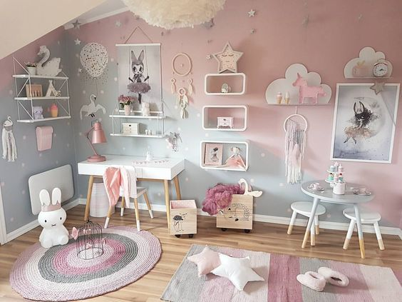 chambre d\'enfant moderne | Design d\'intérieur en 2019 | Chambre ...