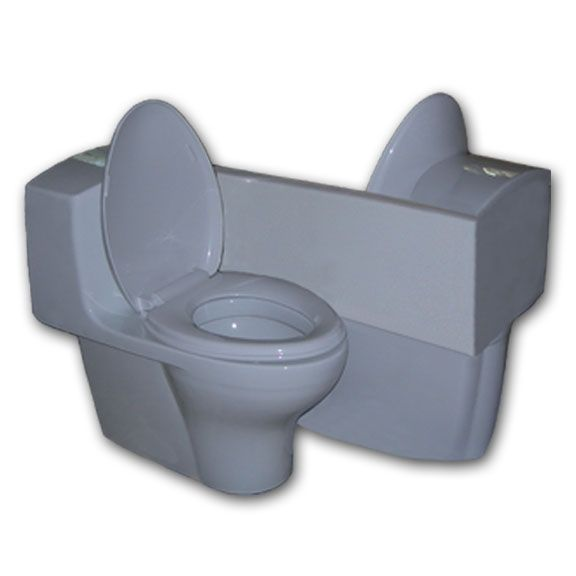 two in one toilet seat. Two person toilette  For romantic twos for two Toilet themed Christmas presents