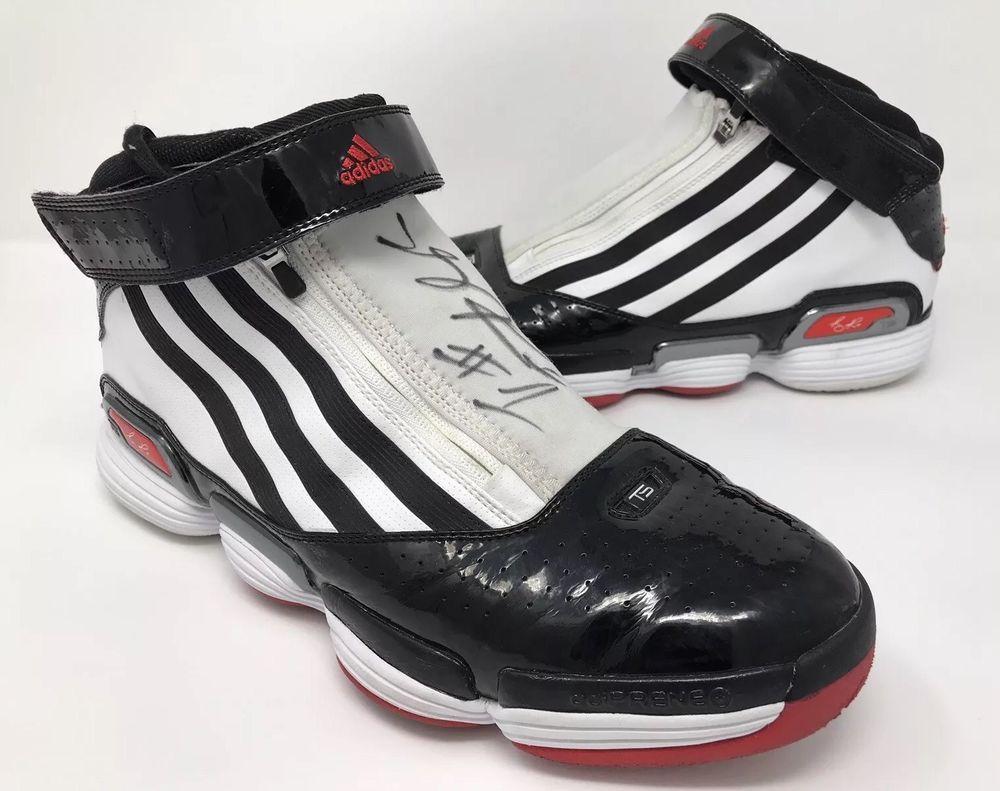 c61a1114b5a39e eBay  Sponsored 2009-2010 Chicago Bulls Derrick Rose Game Worn PE Promo  Sample Signed AUTO Shoes