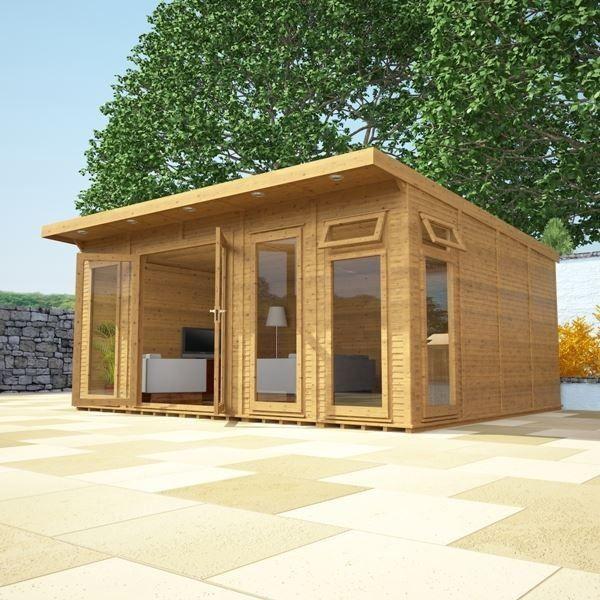 avon 5m x 4m insulated garden room httpwwwsheds