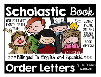 Scholastic Book Order Letter To Parents Bilingual English And