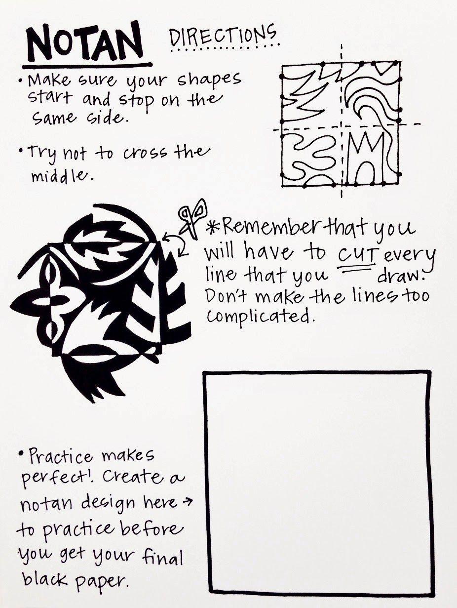 Classroom management  #notan #lesson notan art lesson, cassie stephens art le…