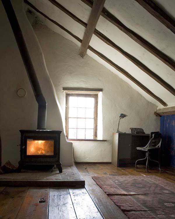 18th Century Restored Mill House Attic Rooms Attic Remodel Attic Bed
