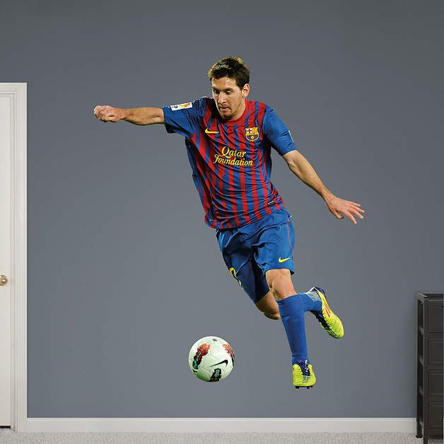 Lionel Messi   Forward Fathead Wall Decal Part 53