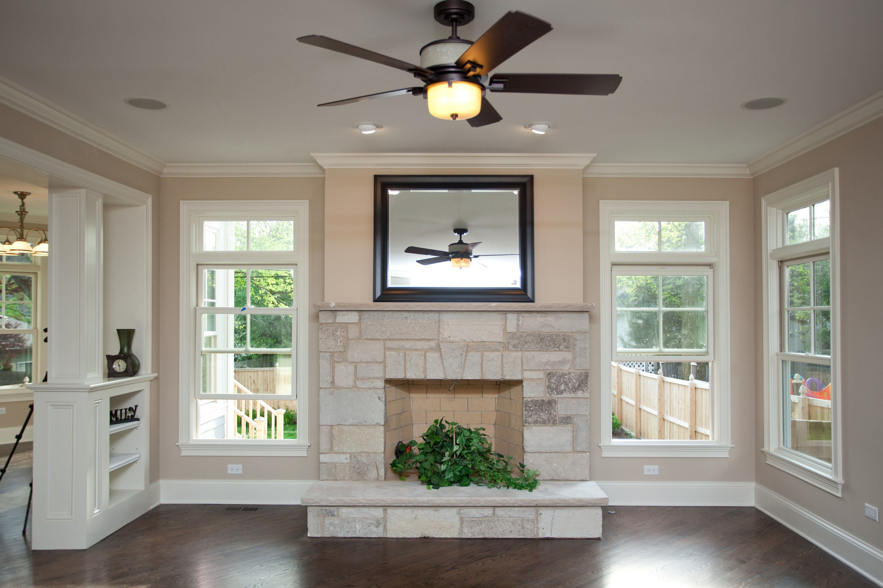 drywall over top of fireplace fireplace family room house on dry wall id=56755