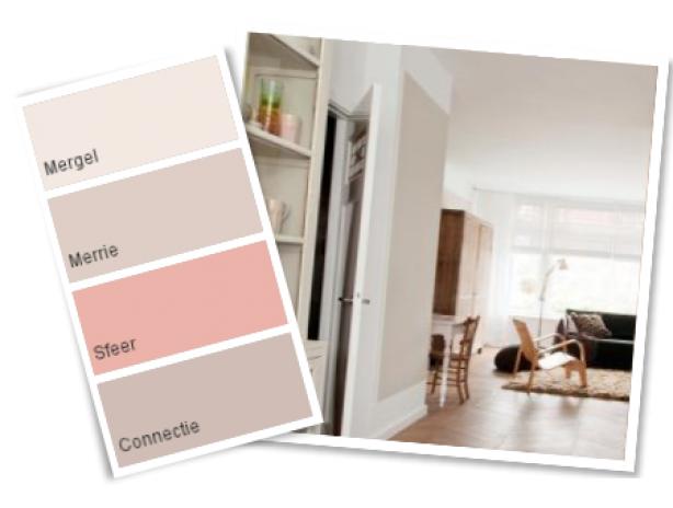 Subtiele Pasteltinten Interieur : Koreman interieur basic puur