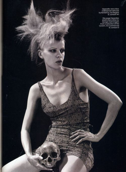 THE FACE November 1995 Play For Today Photographed by David Sims Model: Emma Balfour