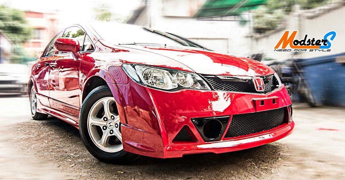 Honda Civic Mugen Rr Body Kit Grease N Gasoline Honda Civic Body Kit Honda