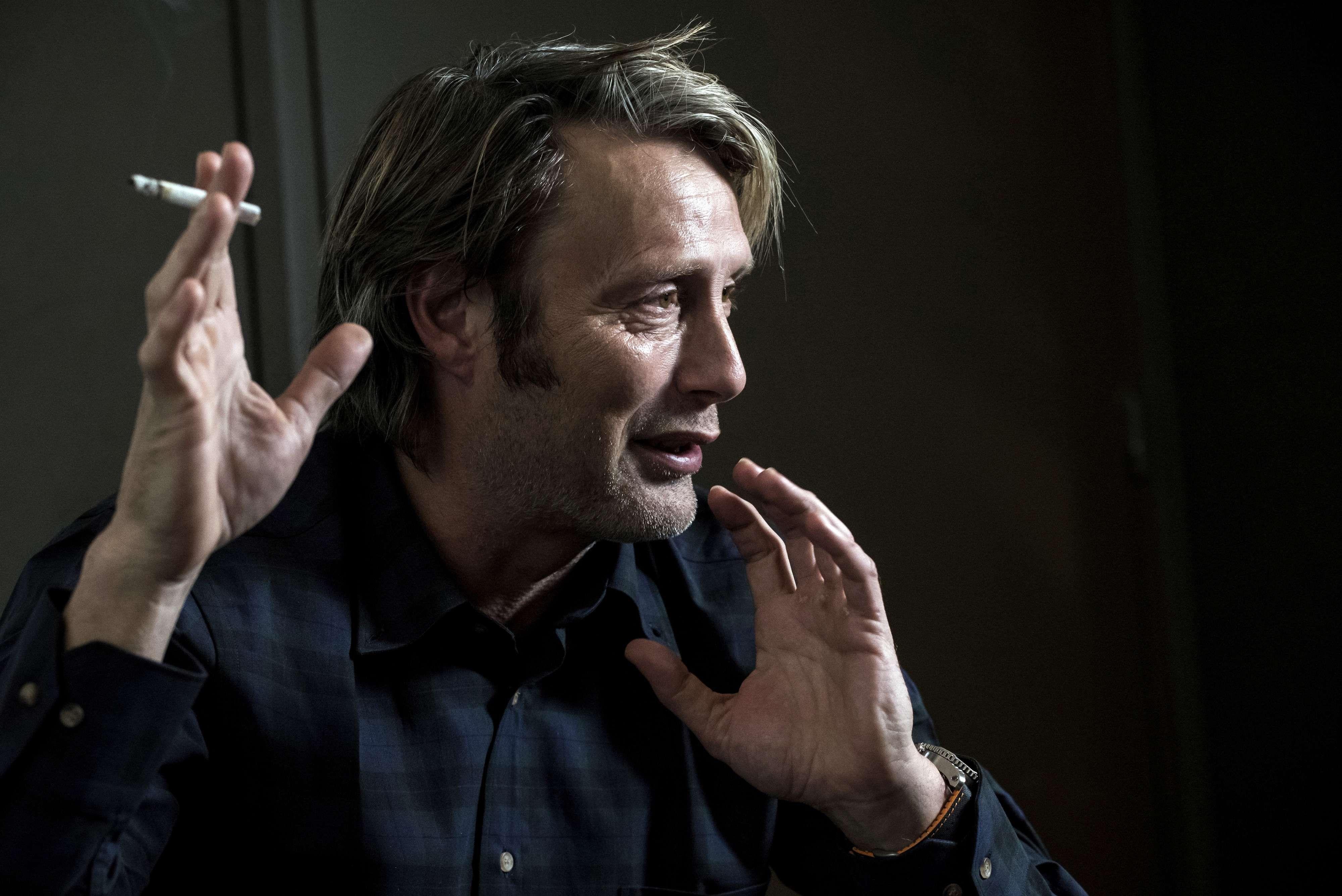 [October 14] 7th Festival Lumiere - Press Conference - 004 - Mads Mikkelsen Source