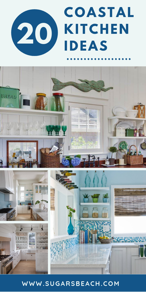 Best Coastal Kitchens Get Beach Themed Kitchens Decor Ideas 2020 Beach Theme Kitchen Beach Themed Kitchen Decor Coastal Kitchen