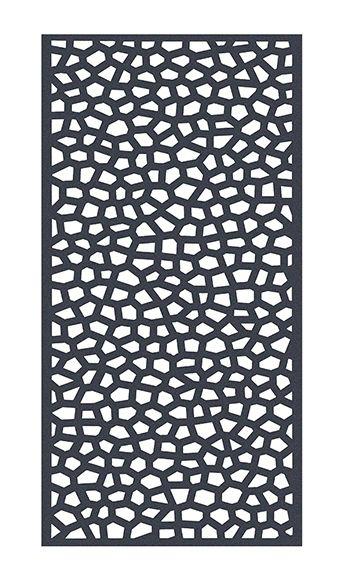 Celosía Fija De Pvc Mosaic Gris 200x100 Cm Leroy Merlin Divisores De Pared Celosía Ideas De Mosaico