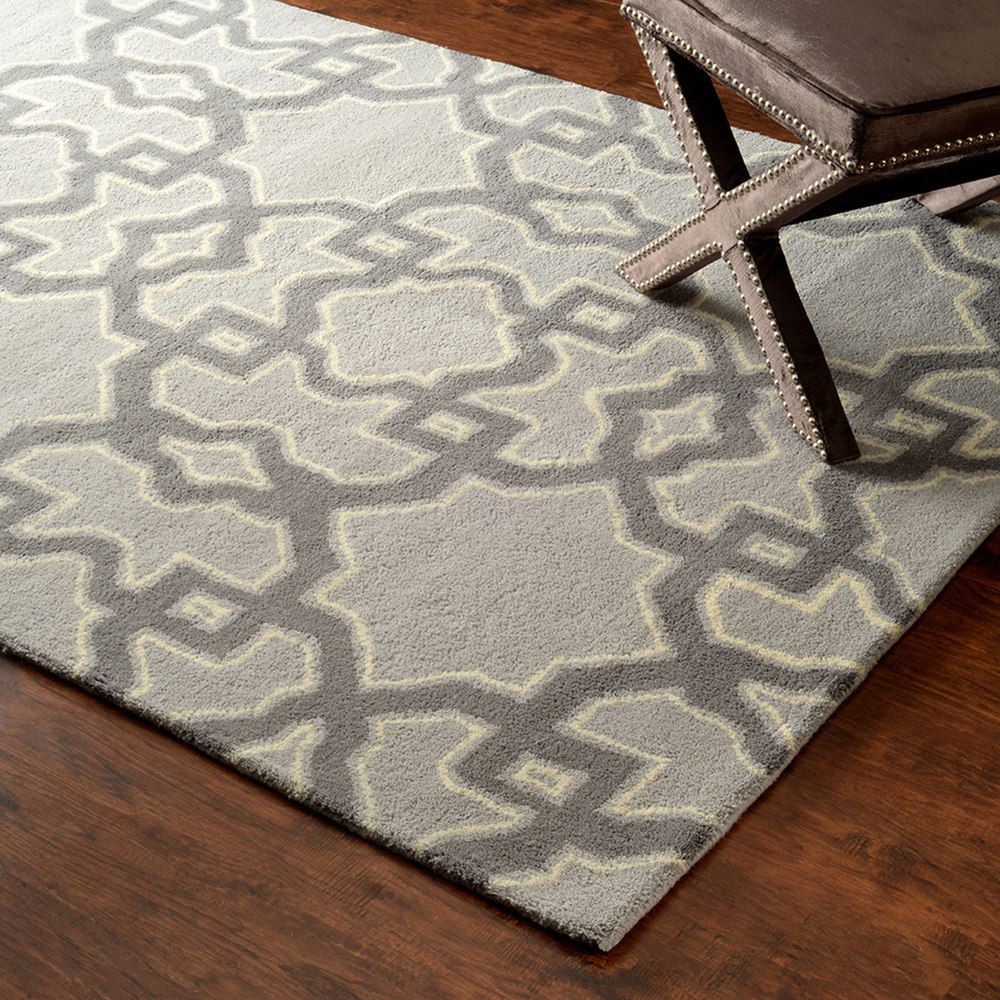 nuLOOM Hand-tufted Wool Grey Rug (8' 6 x 11' 6 ) | Overstock.com Shopping - Great Deals on Nuloom 7x9 - 10x14 Rugs