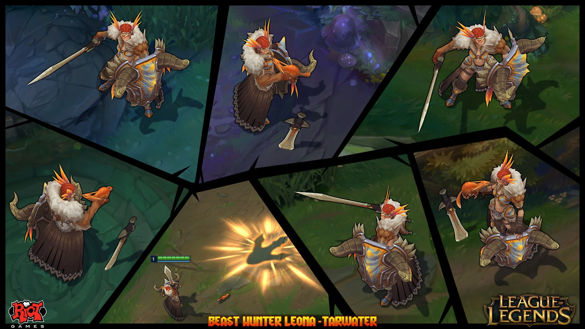 Beast Hunter Leona League Of Legends Skin Concept By Tarwater