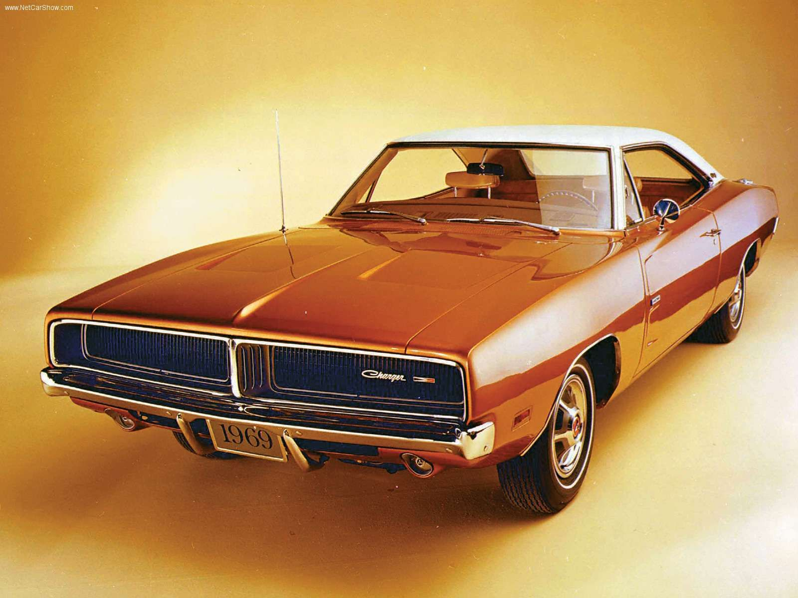 1969 Dodge Charger Featuring New Split Grill Design Dodge Charger