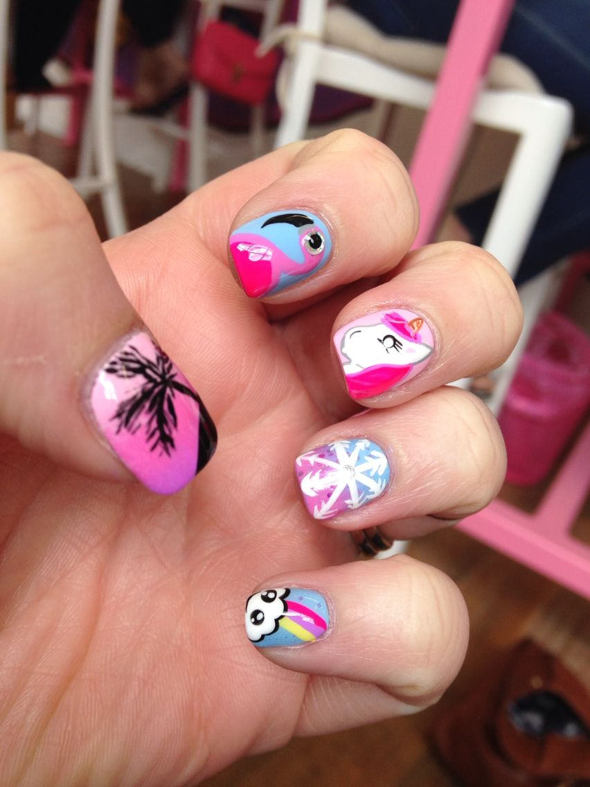 Scream Nail Art Choice Image Easy Nail Designs For Beginners Step