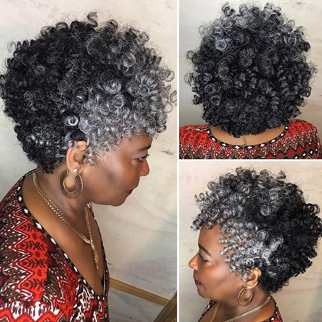 African American Salt And Pepper Hairstyles: Pin On Crochet Hair Style