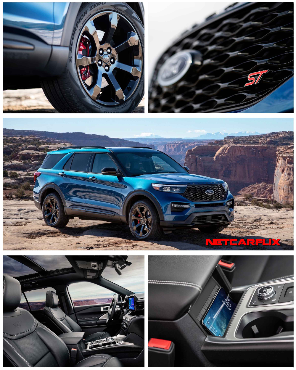 2020 Ford Explorer ST HD Pictures, Videos, Specs
