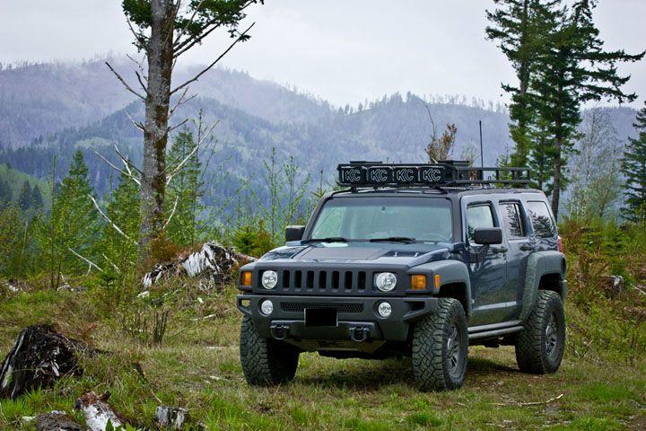 Kmw Custom Roof Racks Hummer H3 Hummer Overland Vehicles