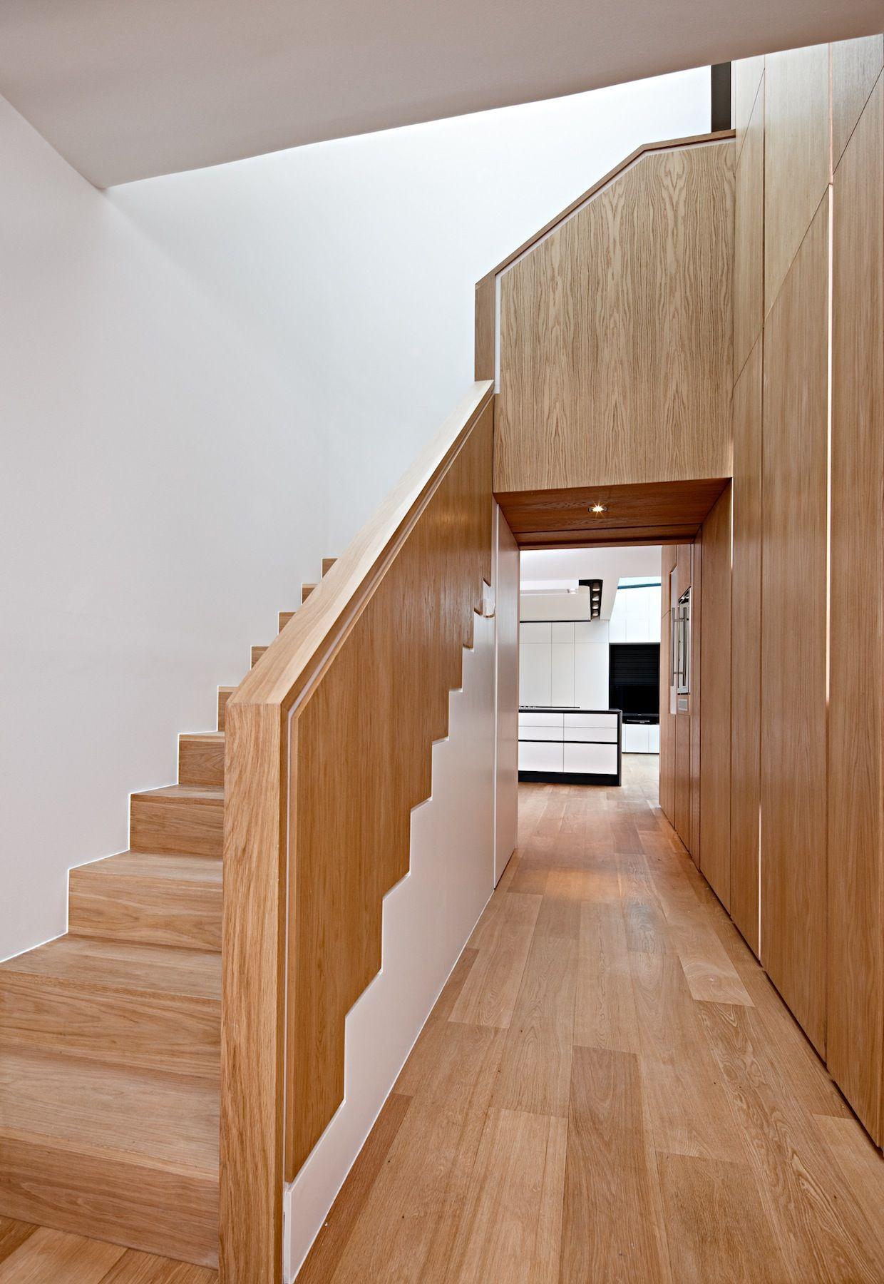 Pembroke Gardens Oak Stairwell | WOOD PANELING | Pinterest | Wood ...