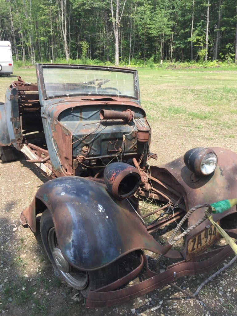 Rust Buckets... This 1934 Ford Victoria Cabriolet needs more than a ...