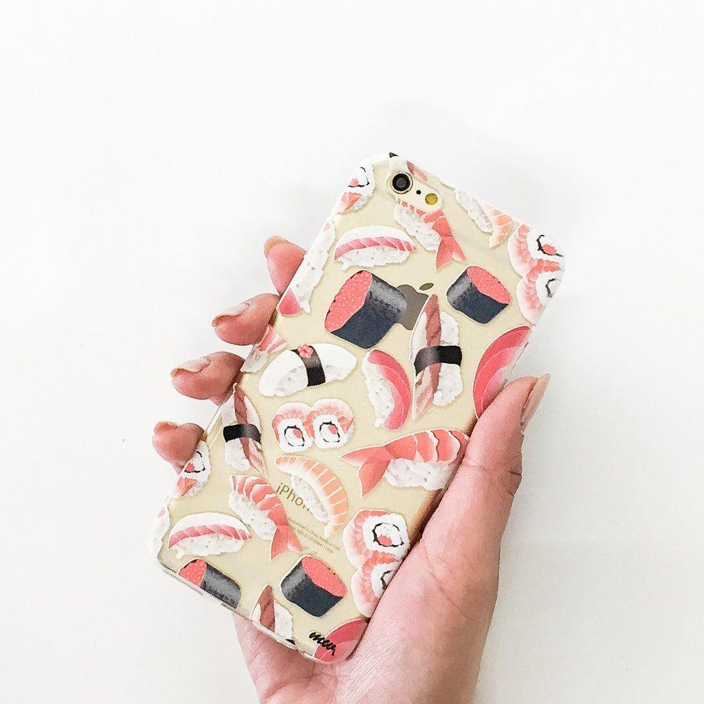 Sushi Pandemonium Clear Tpu Case Cover Milkyway Case Clear Phone Case Case Cover Ad ogni ordine hai la possibilità di sperimentare nuovi sapori e nuove combinazioni. pinterest