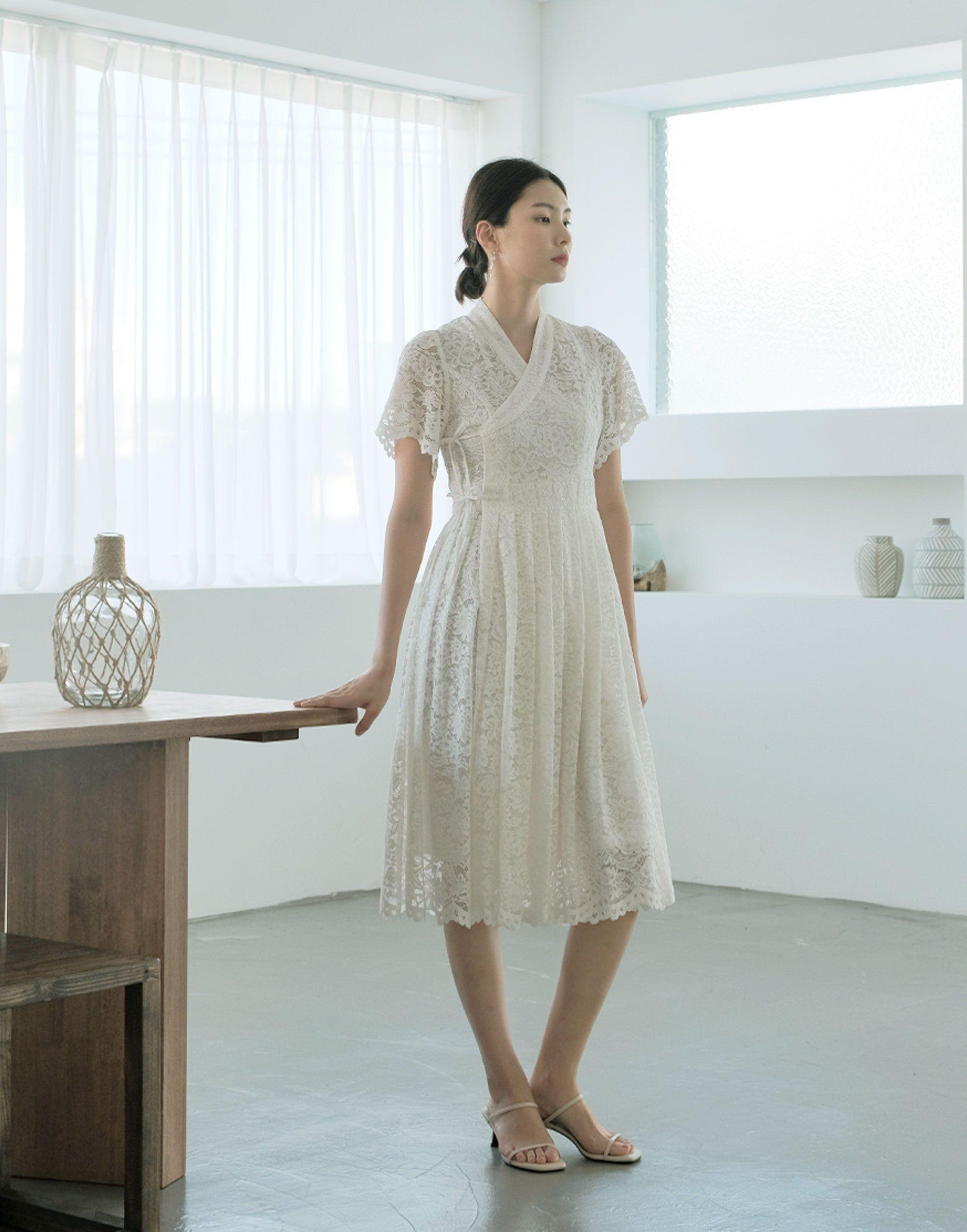 Women's Luxury Bridal Lace Long Dress Bridal Party White   Etsy