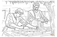 coloring page of mark 63  christian coloring coloring pages free christian