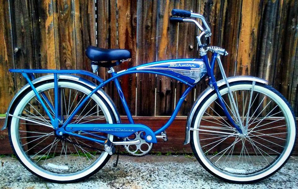 Schwinn Cruiser Deluxe Schwinn Bike Retro Bicycle Bicycle