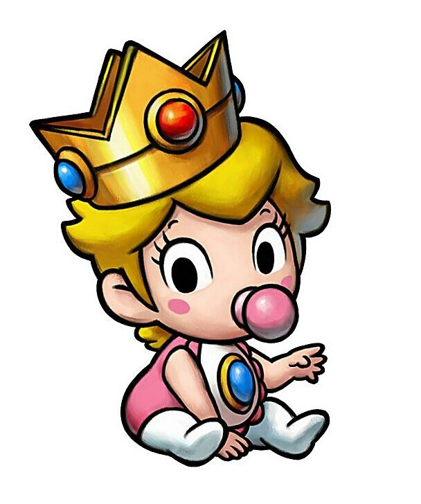 baby princess peach characters art mario luigi partners in time jpg peach mario mario princess peach baby princess peach characters art