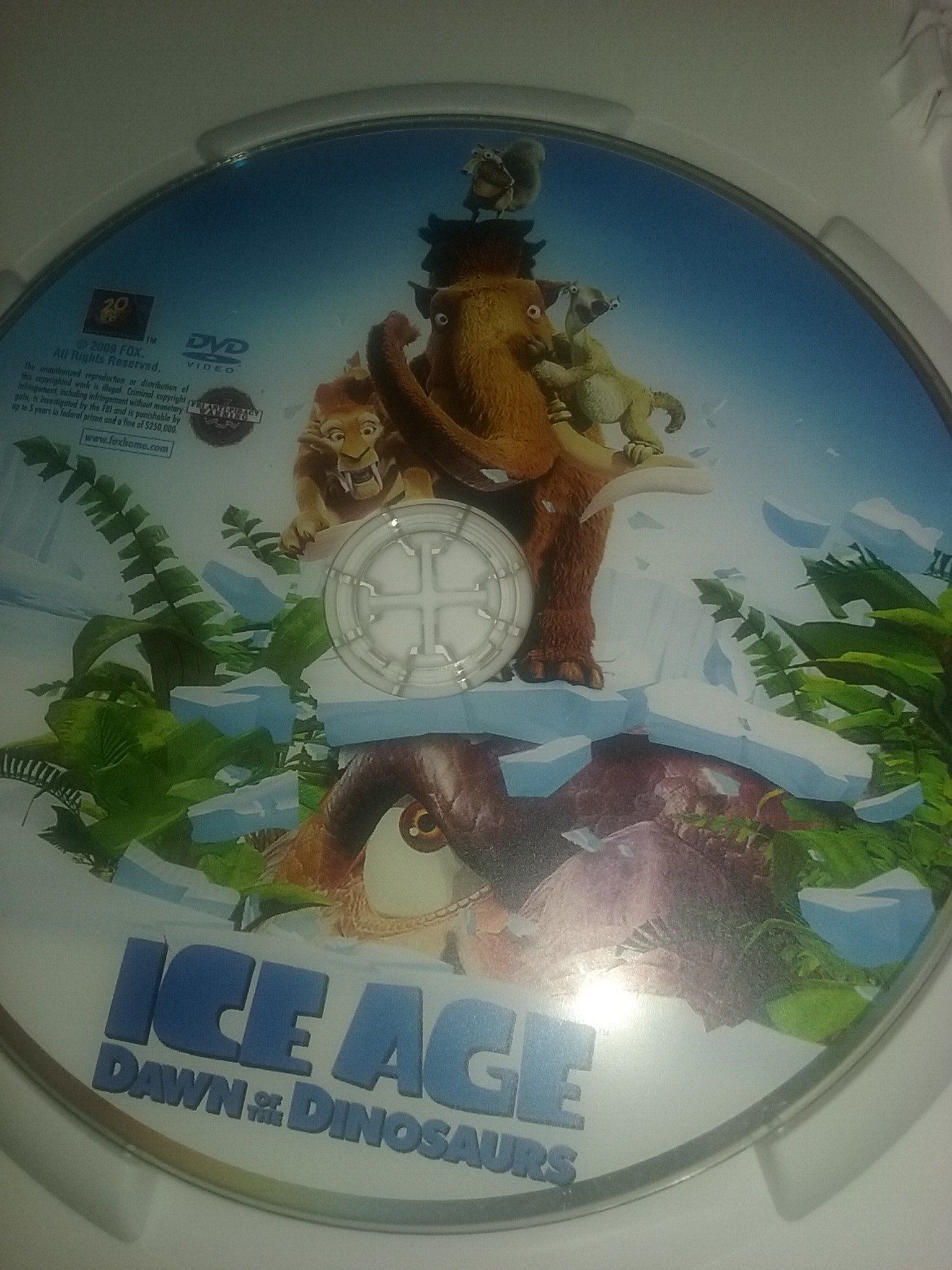 Ice Age Dawn of the Dinosaurs Movie Review (2009 Movie