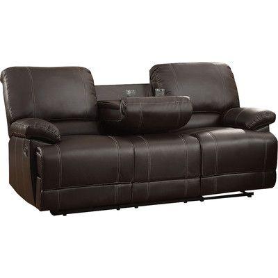 Andover Mills Edgar Double Reclining Sofa Reclining Sofa