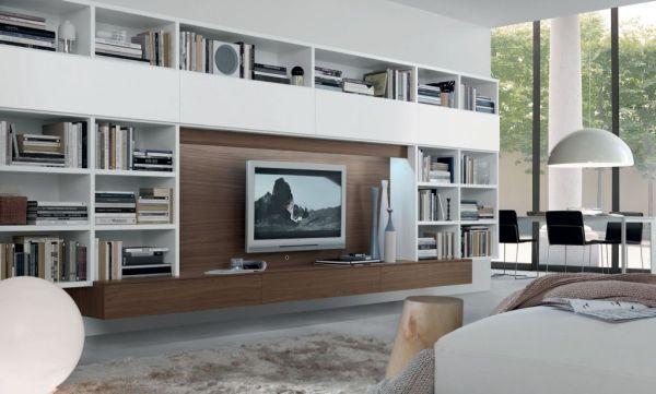 Soluzioni per il soggiorno: come scegliere la parete attrezzata ...