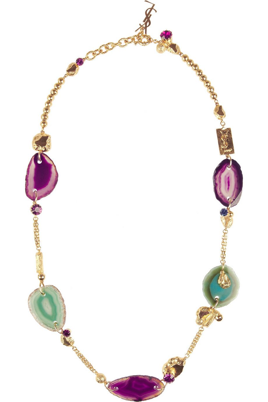 Yves Saint Laurent Jewelry Pinterest Gold necklaces Yves