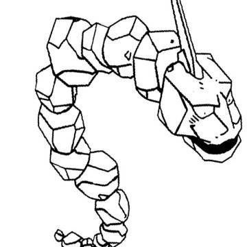 Onix Pokemon Of Brock Coloring Page Pokemon Coloring Pages Onix