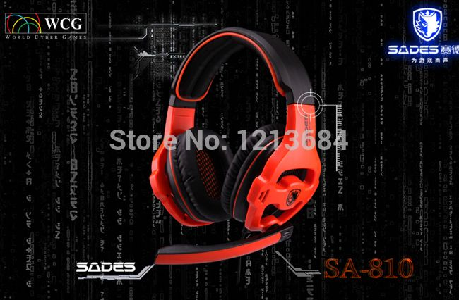(Buy here: http://appdeal.ru/1c5f ) SADES SA810 Noise Cancelling 40mm Driver 7.1 Channel Sound Bass Gaming Computer PC Headphones Headset w/ Mic For DOTA LOL CF CS for just US $32.00