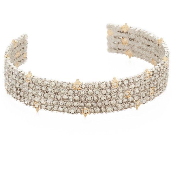Alexis Bittar Crystal Lace Cuff Bracelet acfsGj