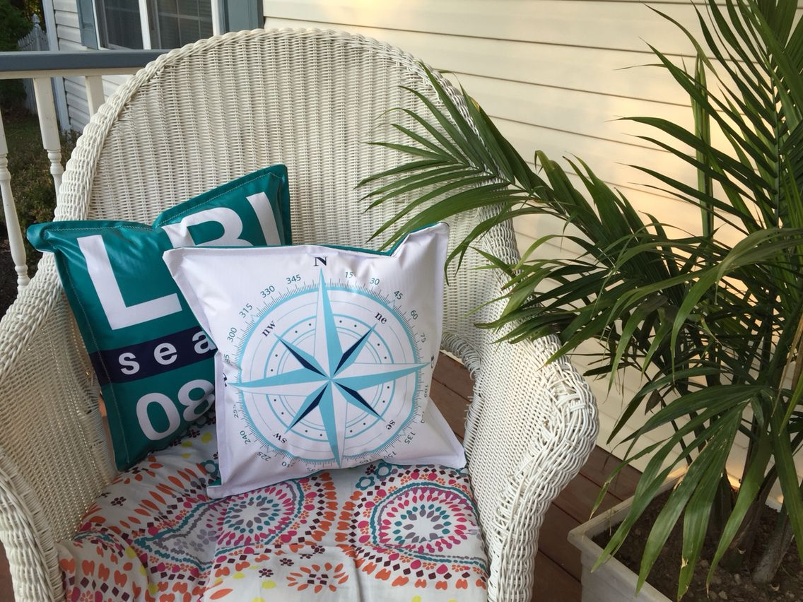 Nautical Outdoor Pillows They Can Get Wet For The Home