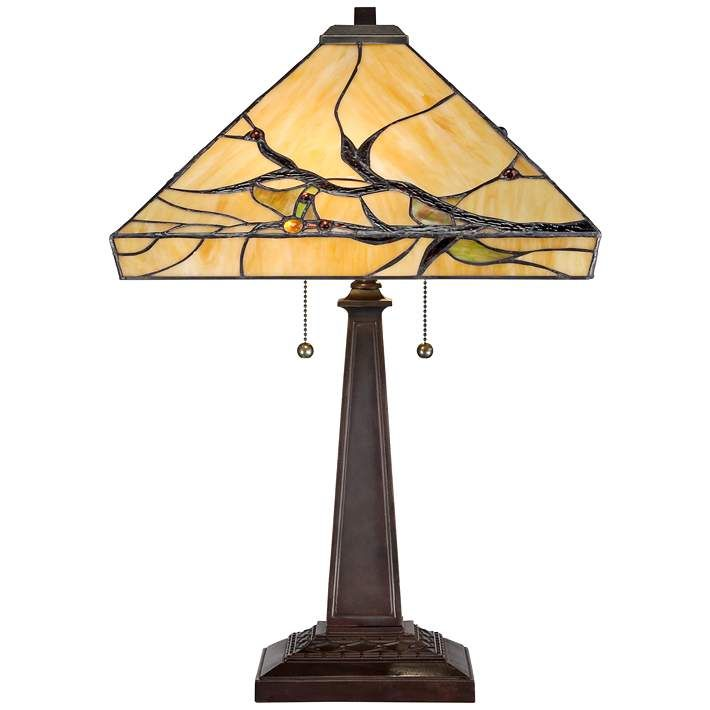Budding Branch Robert Louis Tiffany Table Lamp W2363 Lamps