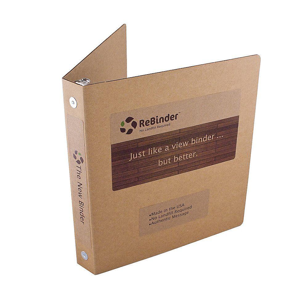 rebinder original cardboard 3 ring binders 1 2 rings 100