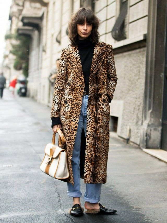 5091b1c32e67 The New Leopard-Print Coats Kate Moss Should Add to Her Collection ...