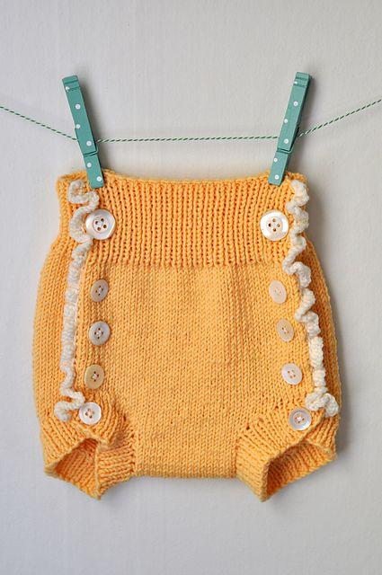 Wool Diaper Cover Lilla Lisa Stickad Bljbyxa Med Virkad