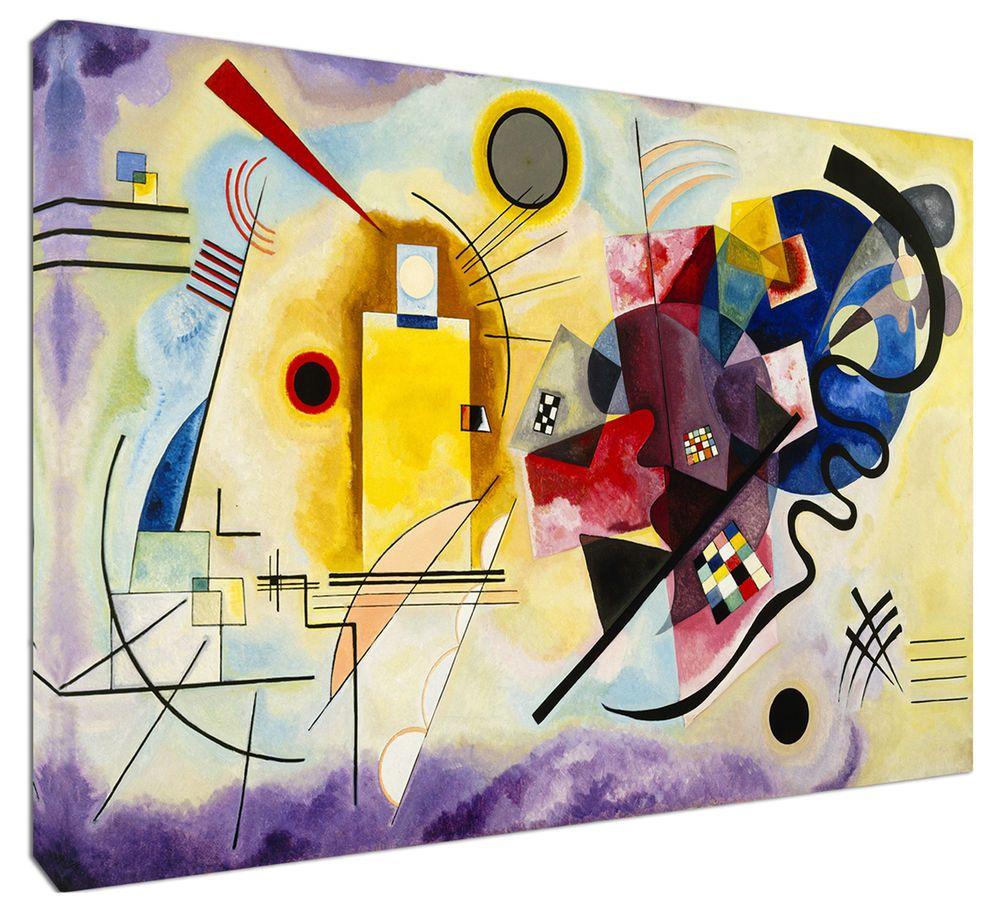 Quadro Moderno Astratto Arredamento Kandinsky g r b Arredo Arte ...