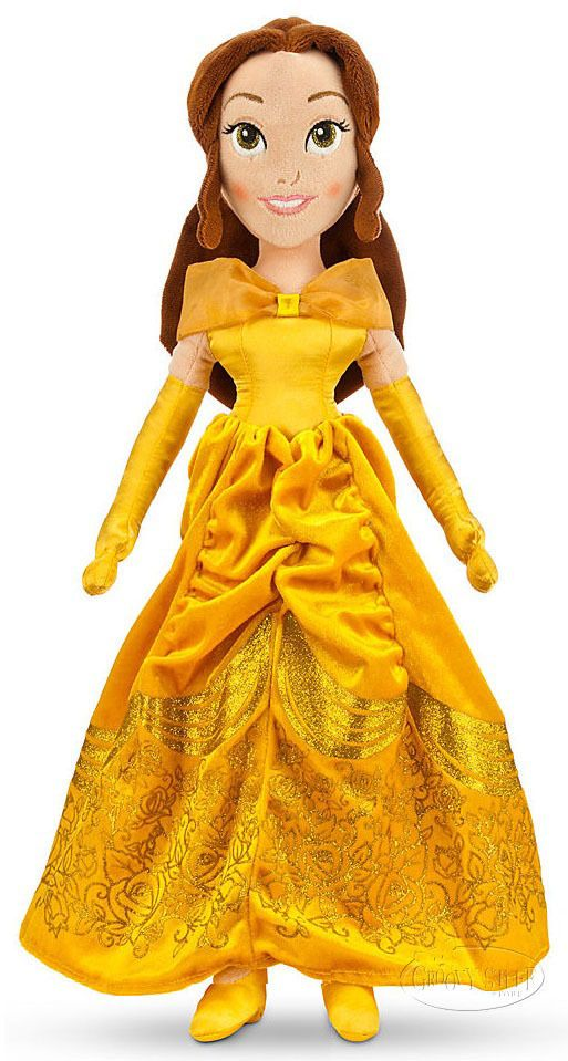 dc60d772ce5 Disney Store Beauty and the Beast Princess BELLE Large Stuffed Plush Doll  NEW  Disney