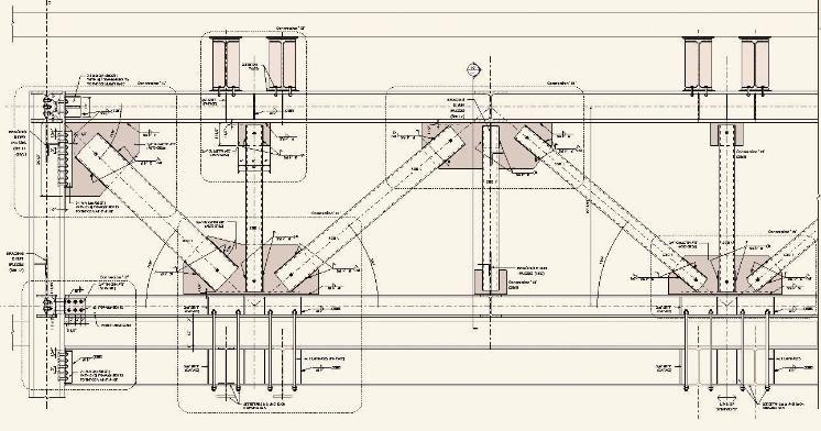 Steel Connections Arsitek Arsitektur Atap