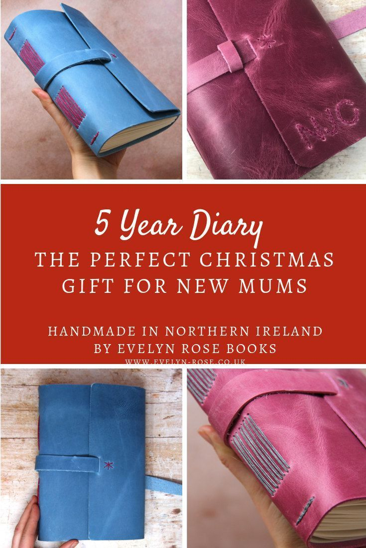 Looking for unique Christmas gift ideas for a new mum? a 5 year journal has space for Five years of entries on one page making it perfect to look back on those early years. #christmasgiftideas #newmumgiftideas #newmumgiftideas #newyearsresolutions
