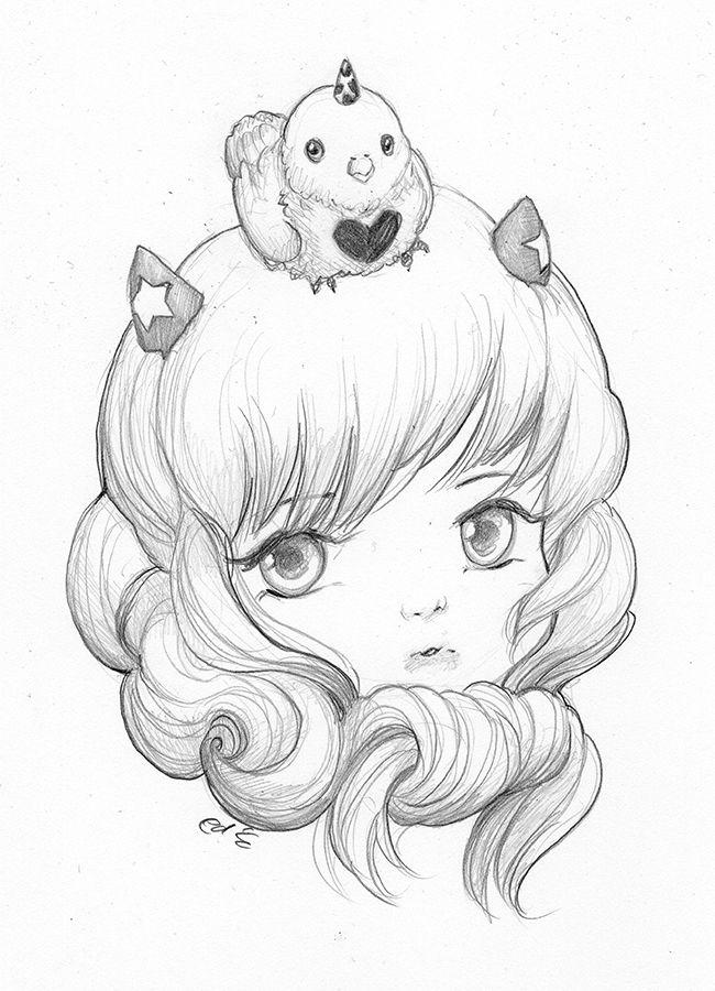 Chirpee By Camilladerrico Deviantart Com On Deviantart Manga