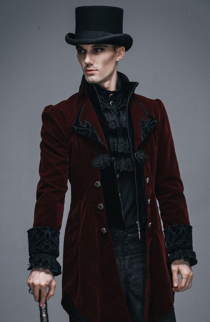 Steampunk jacket male